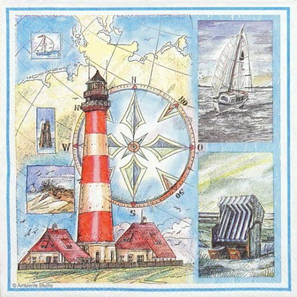 Paper Napkin - Living Coast