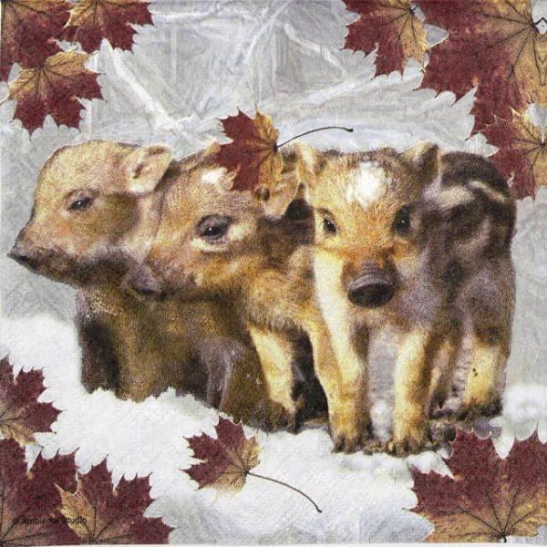 Lunch Napkins (20) - Wild boar