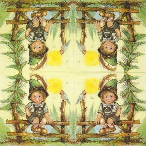 Paper Napkin - Little Josef