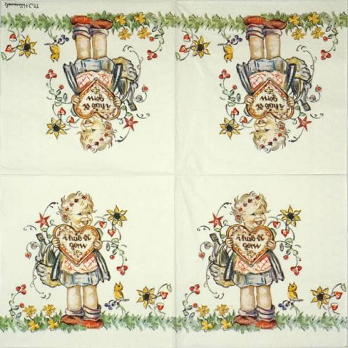 Lunch Napkins (20) - Valentine  Gift