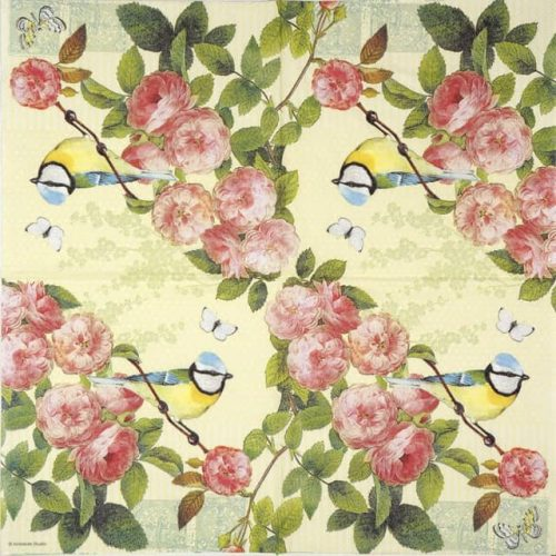 Paper Napkin - Rose Scent