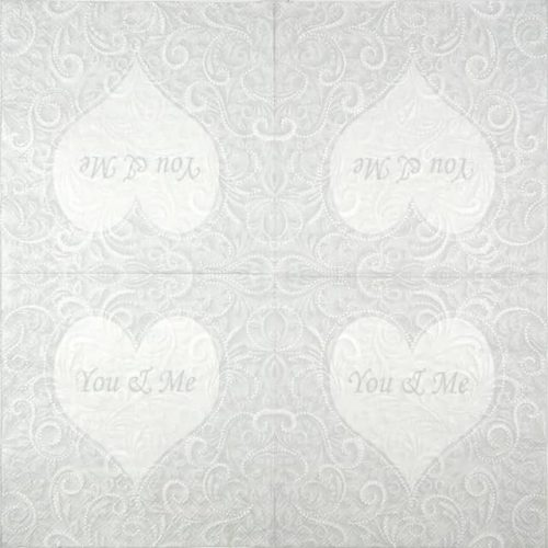 Paper Napkin - You & Me Champagne