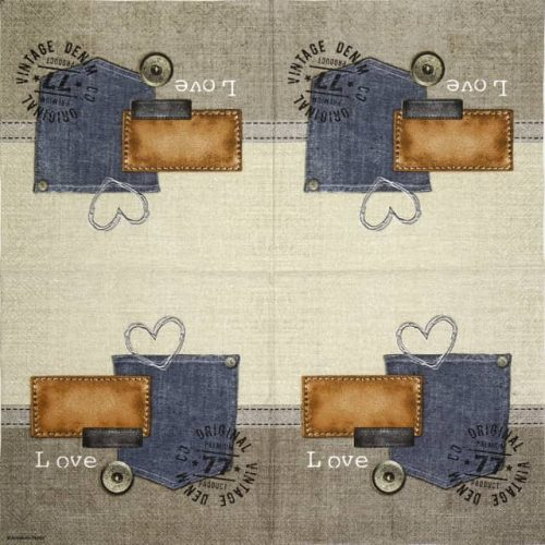 Paper Napkin - Original Denim