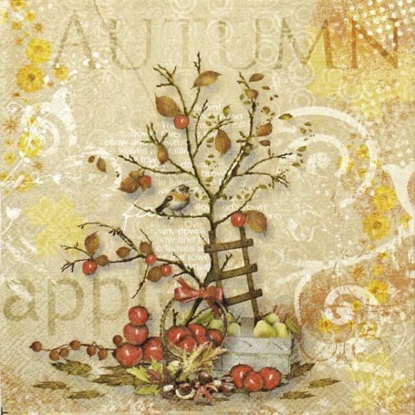 Lunch Napkins (20) - Apple Harvest