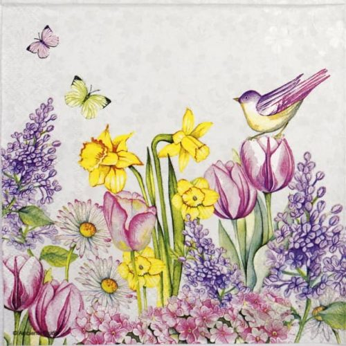 Lunch Napkins (20) - Blooming garden