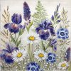 Lunch Napkins (20) - Mixed meadow