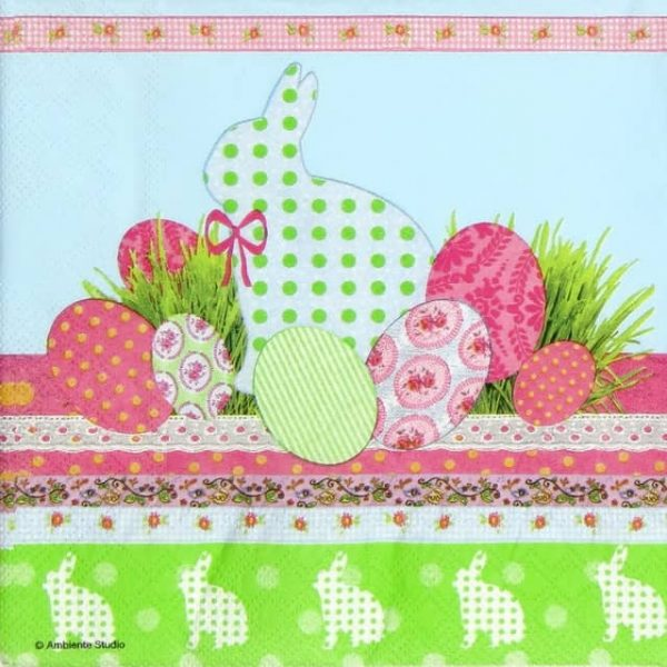 Paper Napkin - Touch of Easter Blue