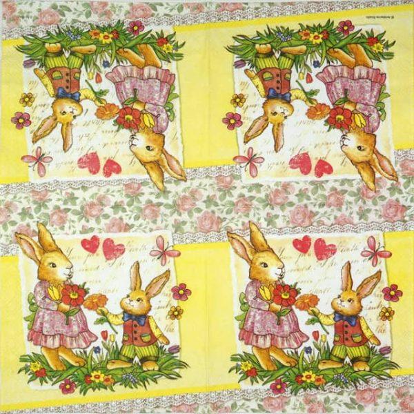 Paper Napkin - Dear Mum