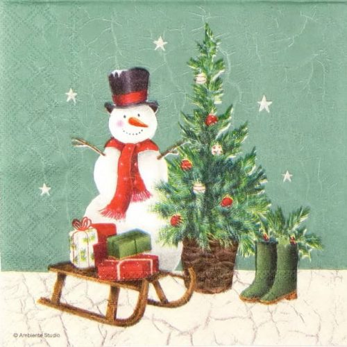 Lunch Napkins (20) - Winter Scene