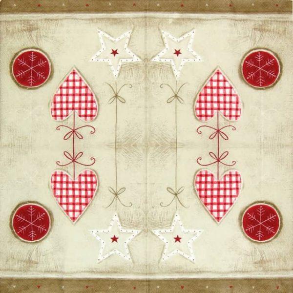 Paper Napkin - Window Decoration