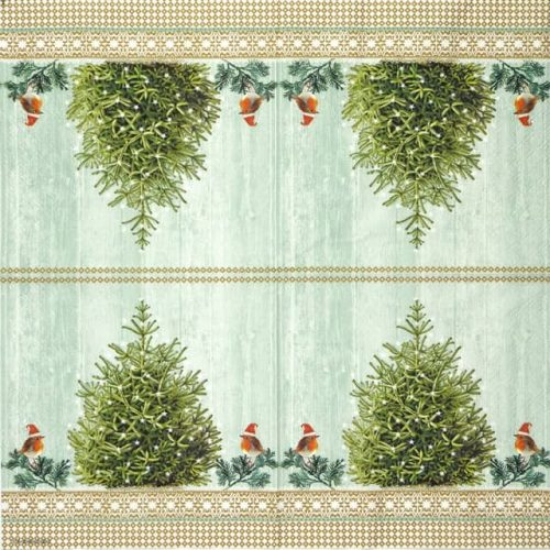 Lunch Napkins (20) - Little Robins at the Tree