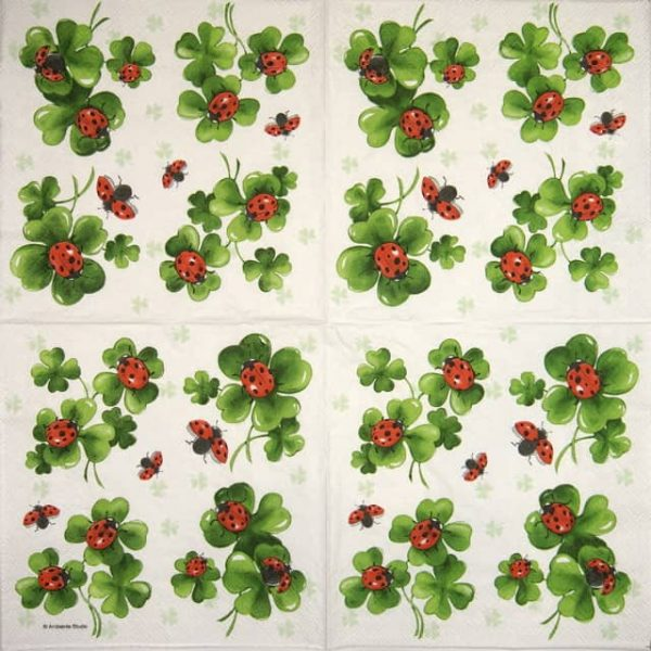 Lunch Napkins (20) - Lots of Luck