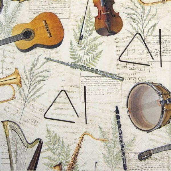 Paper Napkin - Music
