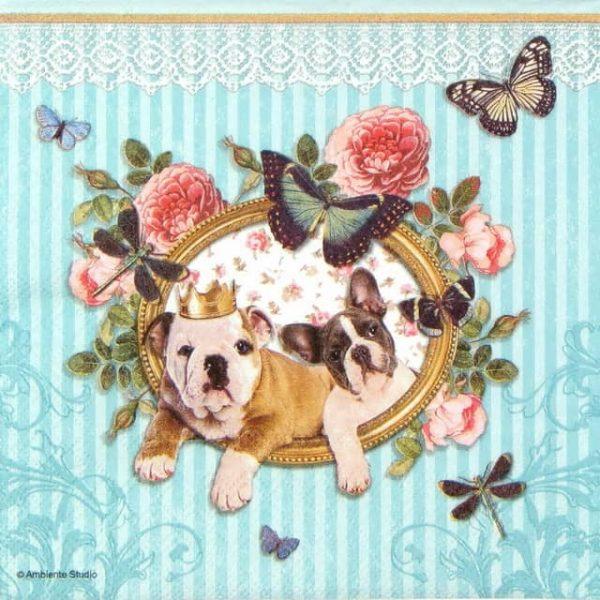 Paper Napkin - Royal Dogs