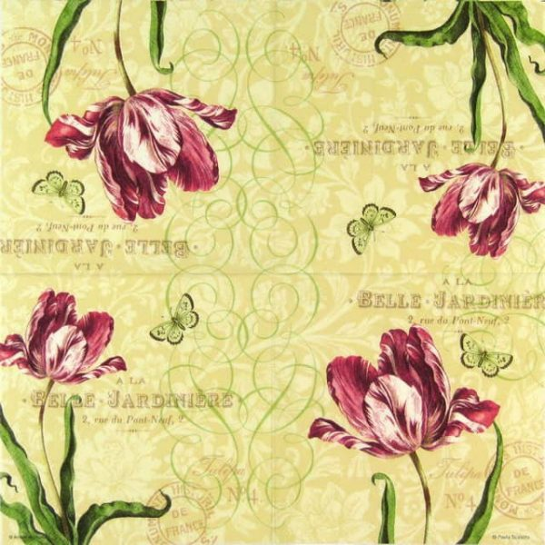 Paper Napkin - Tulip