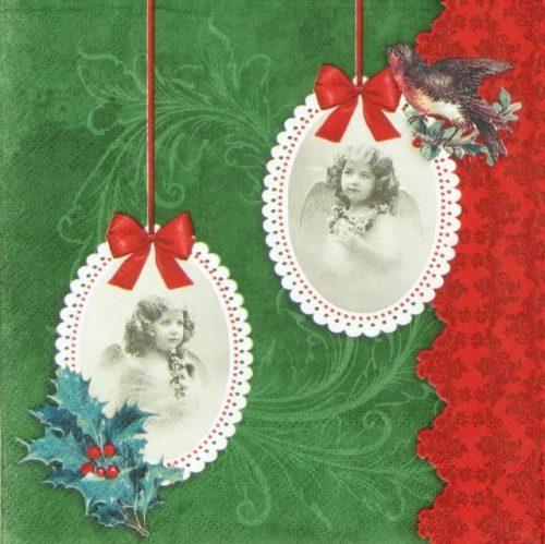 Paper Napkin - Vintage Angels