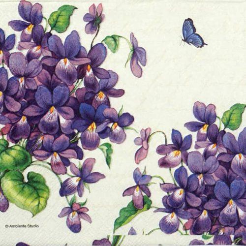 Paper Napkin - Viola