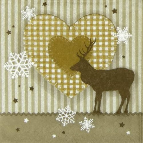 Paper Napkin - Christmas Patchwork
