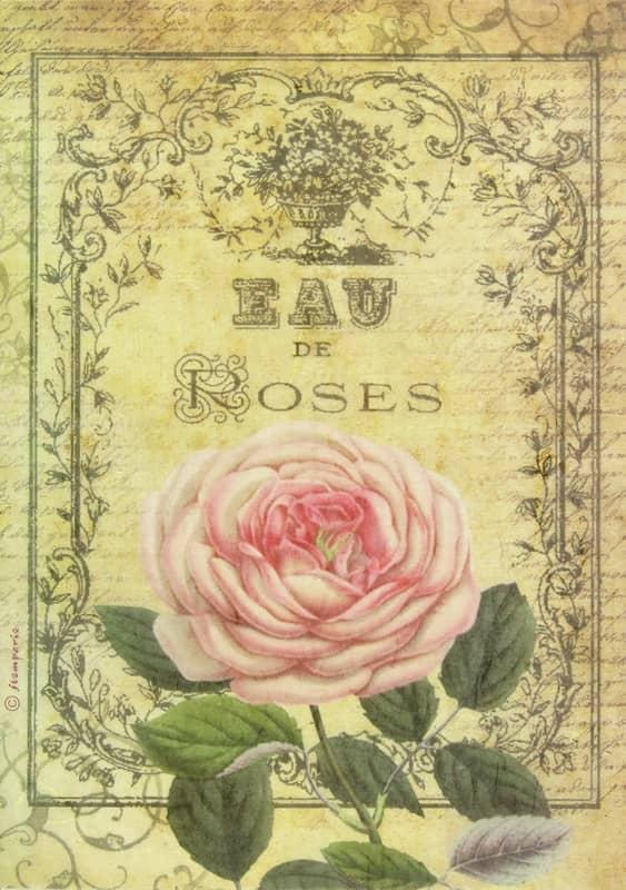 Rice Paper - Eau de Roses