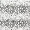 Rice Paper - Hand Writing White DFSA4163 Stamperia