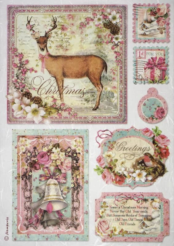 Rice Paper - Sweet Christmas Cards