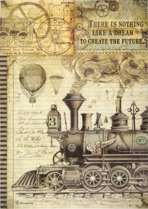Rice Paper - Voyages Train