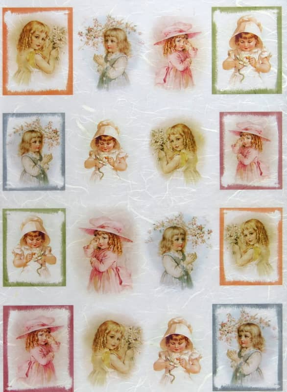 Rice Paper - Little Girls-