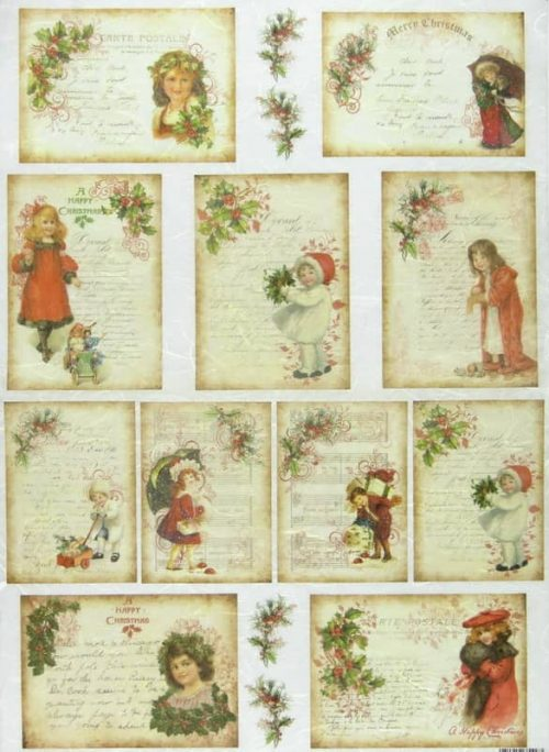 Rice Paper - Christmas Cards