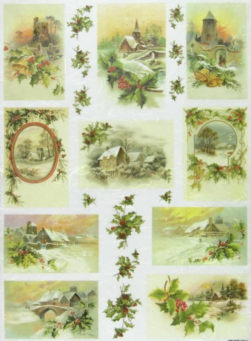 Rice Paper - Winter Landscapes