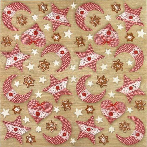 Paper Napkin - Cottage Love pink