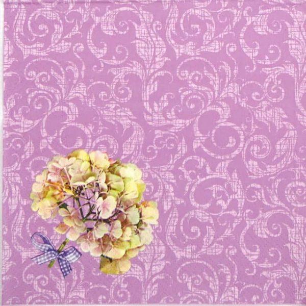Lunch Napkins (20) - Hydrangea Flowers