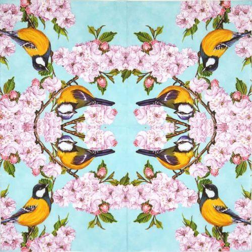 Paper Napkin - Cherry Blossom Twig_Daisy_SDOG019801
