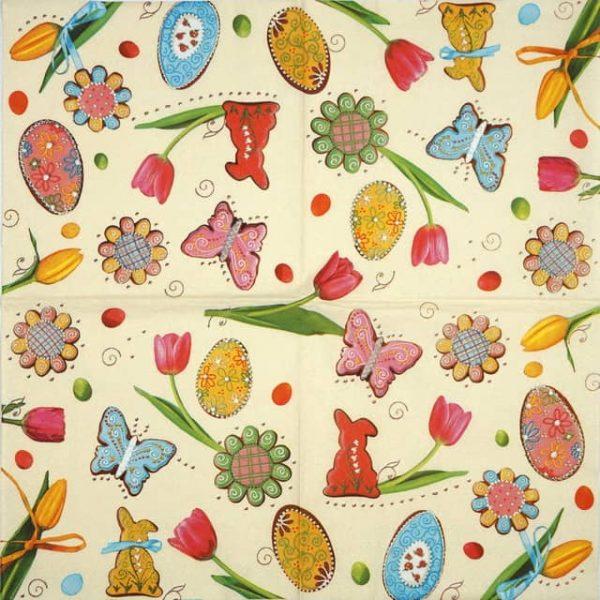 Paper Napkin - Spring & Easter
