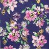 Paper Napkin - Flower Meadow Pattern blue