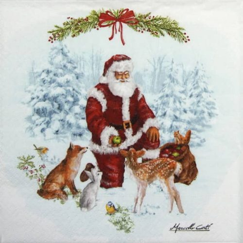 Paper Napkin - Christmas Carol