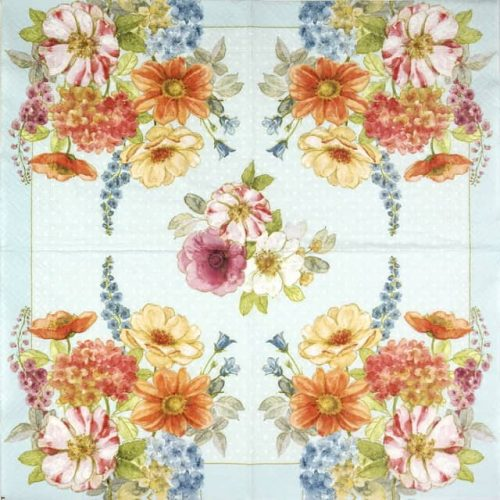 Paper Napkin - Cottage Flowers