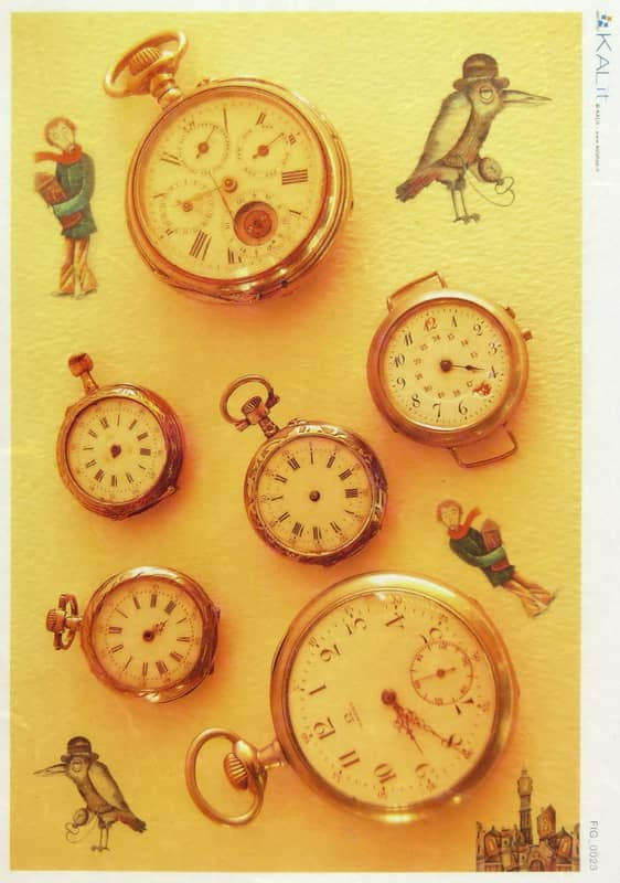 Rice Paper - Old Watch