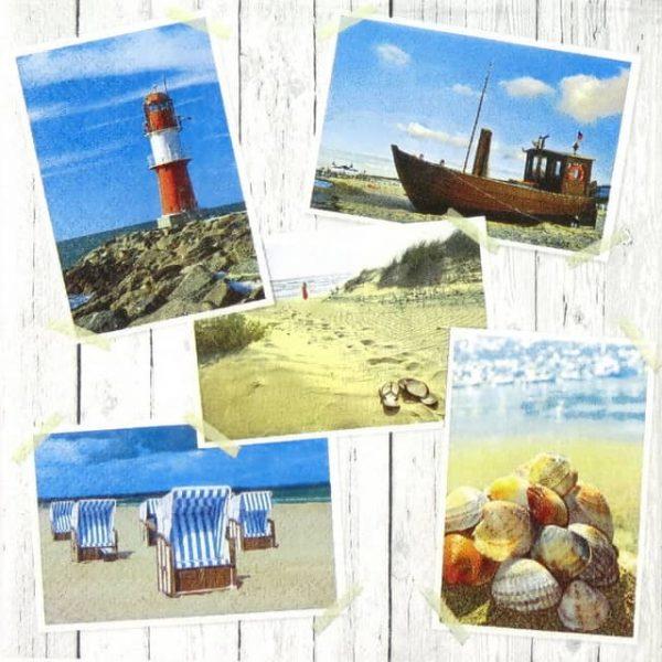 Paper Napkin - Beach Impressions