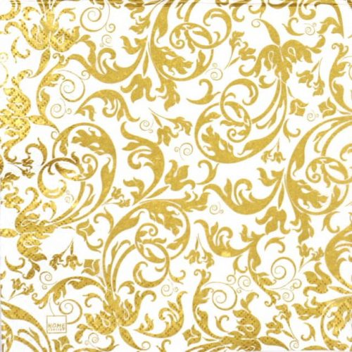 Paper Napkin - Arabesque Gold