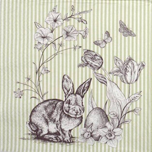 Paper Napkin - Easter Scene