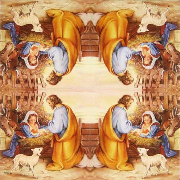 Paper Napkin - Jesus Born