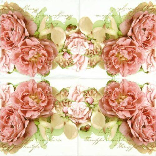 Paper Napkin - Mary Roses_Home-fashion_211253