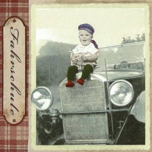 Paper Napkin - Bobbie's Car