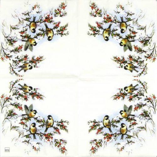 Paper Napkin - Sophy's Birds_Home-fashion_611334