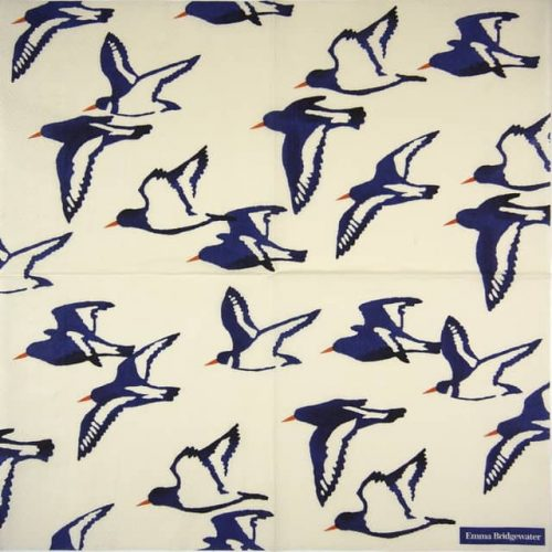 Paper Napkin - Oyster Catchers cream