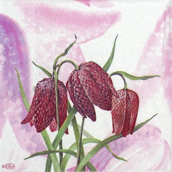 Paper Napkin - Flower Fritillaria