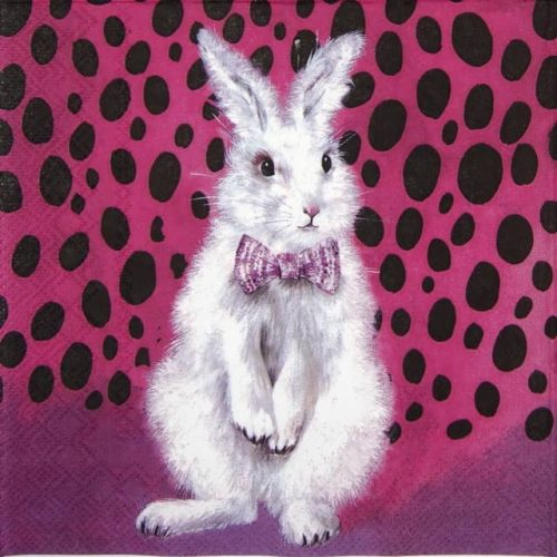 Lunch Napkins (20) - Bad Hair Bunny