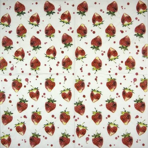 Paper Napkin - Soft Strawberry