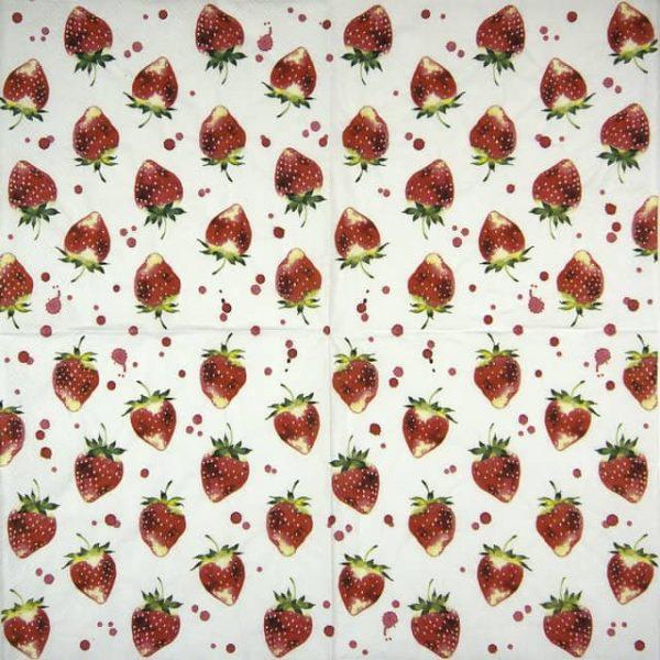 Paper Napkin - Soft Strawberry