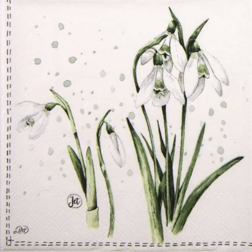 Lunch Napkins (20) - Spring Greetings